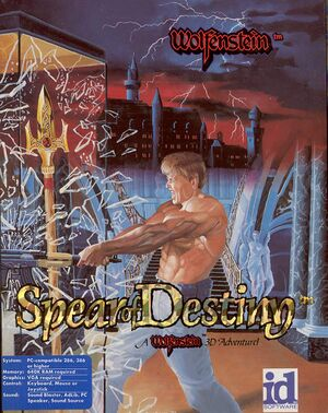 Spear of Destiny cover