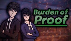 Burden of Proof cover
