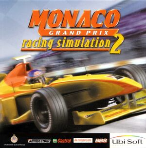 Monaco Grand Prix Racing Simulation 2 cover