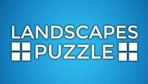 Puzzle: Landscapes cover