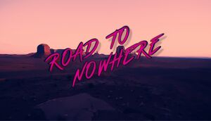 Road To Nowhere cover