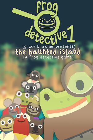 The Haunted Island,a Frog Detective Game cover