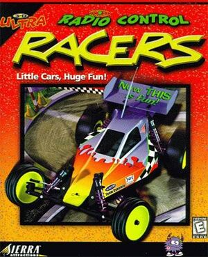 3-D Ultra Radio Control Racers cover