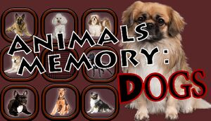 Animals Memory: Dogs cover