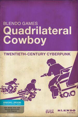 Quadrilateral Cowboy cover