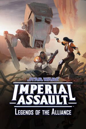 Star Wars: Imperial Assault - Legends of the Alliance cover