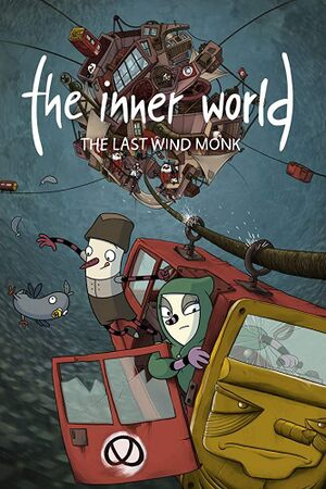The Inner World: The Last Wind Monk cover