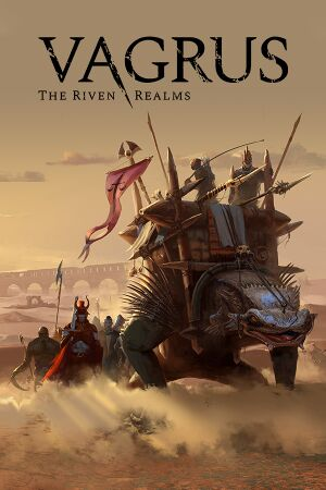 Vagrus - The Riven Realms cover