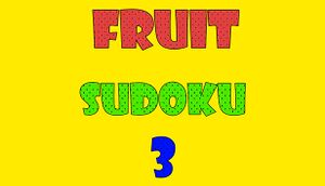 Fruit Sudoku🍉 3 cover