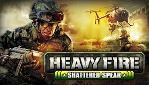 Heavy Fire: Shattered Spear cover