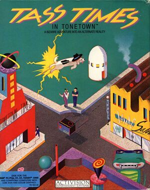Tass Times in Tonetown cover