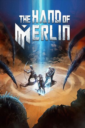 The Hand of Merlin cover