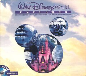 The Walt Disney World Explorer cover