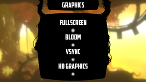 In-game graphic settings