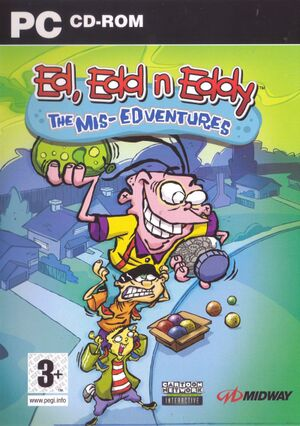 Ed, Edd n Eddy: The Mis-Edventures cover