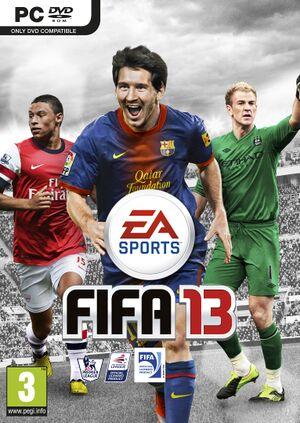 FIFA 13 cover