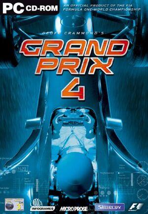 Grand Prix 4 cover