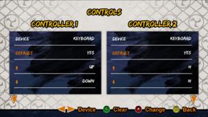 Keyboard controls Version 2019.