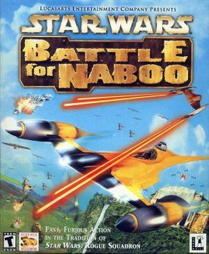 Star Wars: Episode I - Battle for Naboo cover