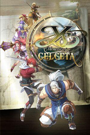 Ys: Memories of Celceta cover