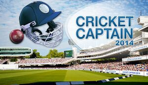 Cricket Captain 2014 cover