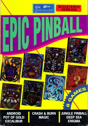 Epic Pinball cover