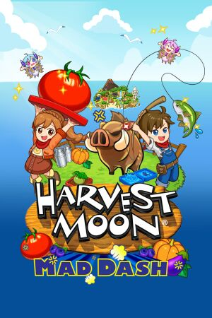 Harvest Moon: Mad Dash cover