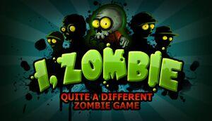 I, Zombie cover