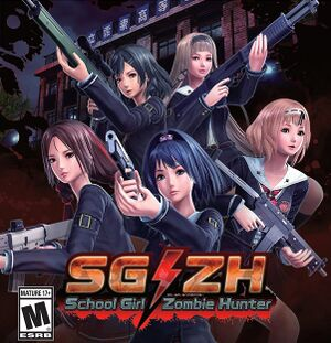 School Girl/Zombie Hunter cover