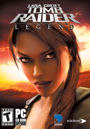 Tomb Raider: Legend cover