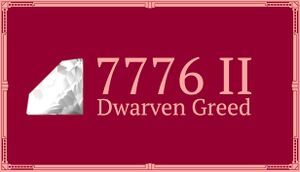 7776 II: Dwarven Greed cover