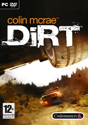 Colin McRae: DiRT cover