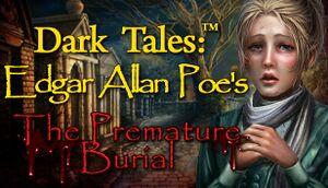 Dark Tales: Edgar Allan Poe's The Premature Burial cover