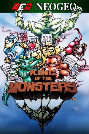 King of the Monsters cover