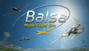 BALSA Model Flight Simulator cover