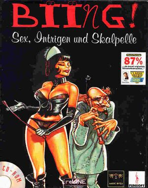 Biing!: Sex, Intrigue and Scalpels cover