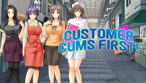 Customer Cums First! cover