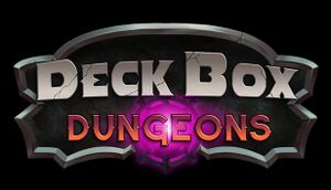 Deck Box Dungeons cover