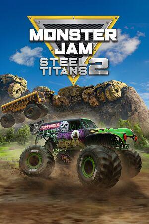 Monster Jam Steel Titans 2 cover