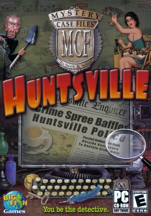 Mystery Case Files: Huntsville cover