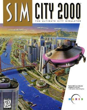 SimCity 2000 cover