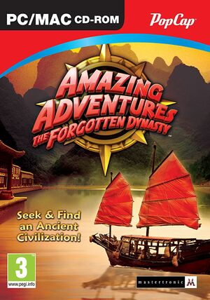 Amazing Adventures: The Forgotten Dynasty cover