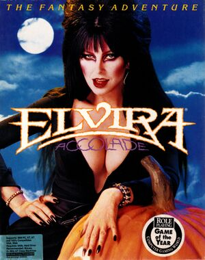 Elvira: Mistress of the Dark cover