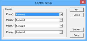 Control Setup