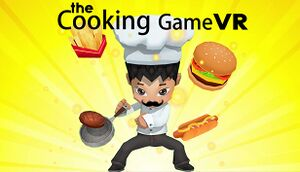 The Cooking Game VR cover
