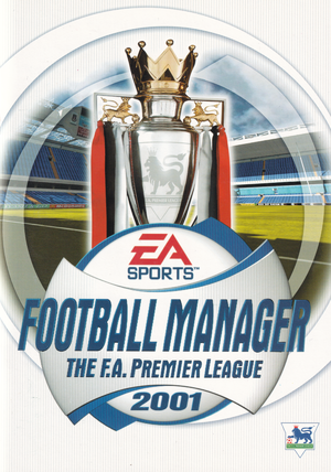 The F.A. Premier League Football Manager 2001 cover