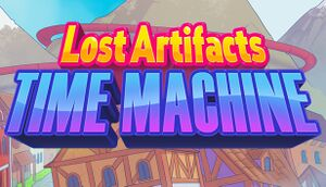 Lost Artifacts: Time Machine cover