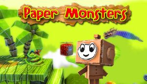 Paper Monsters cover