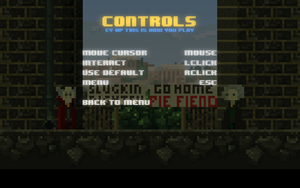 In-game controls overview.
