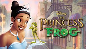 The Princess and the Frog cover